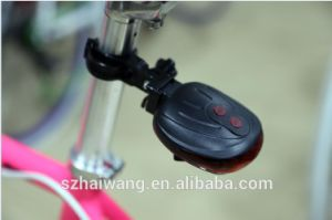 Waterproof Safety Bicycle Rear Light with RoHS pictures & photos