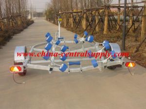 Manufacturer Made and Sale 5.36m Boat Trailer with Roller System CT0536 pictures & photos