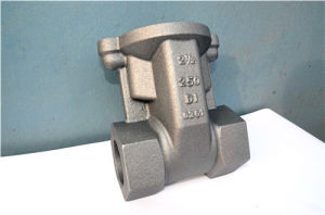 2 Inch Filter Body Rough Casting Iron Casting