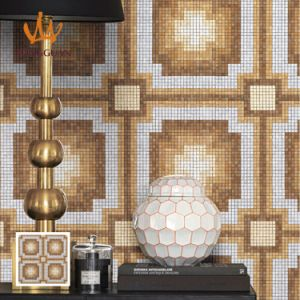 Mosaic Pattern Latest Design Bizassa (MP1015) pictures & photos