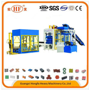 Automatic Hollow Concrete Curbstone Brick Block Machine with ISO Ce pictures & photos