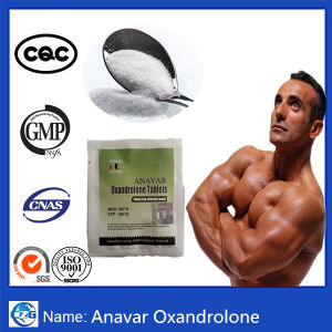 Anabolic Oral Steroid Hormone Powder Green Pills Anavar pictures & photos