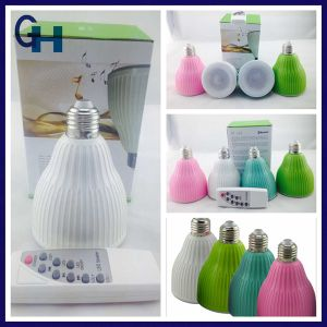 High Quality GU10 E27 B22 Bluetooth RGB LED Bulb with Bluetooth Speaker for Andriod Ios pictures & photos