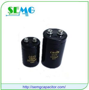 Aluminum Electrolytic Start Capacitor 6300UF 400V Screw Terminal pictures & photos