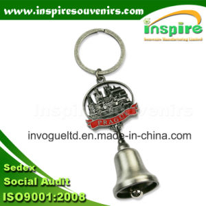Zinc Alloy Souvenir Keychain with Dinner Bell pictures & photos