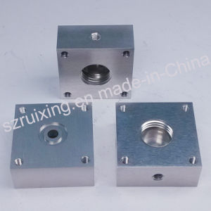 Aluminum Spare Part for Equipment by CNC Machining pictures & photos