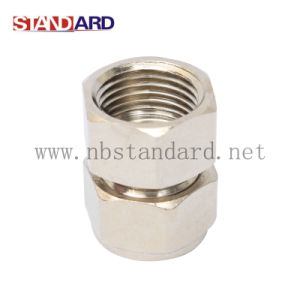 Brass Compression Fittings/Plumbing Fitting/Nipple/Straight/Coupling/Fitting pictures & photos