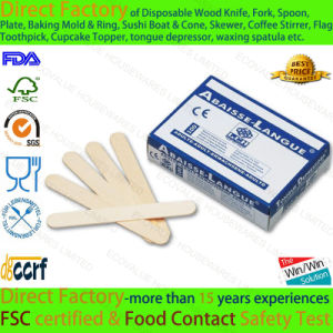 Competitive Price Disposable Wood Tongue Depressor as Medical Supplies pictures & photos