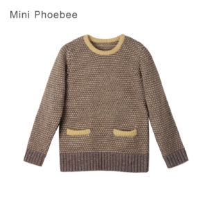 100% Wool Girl Sweater Cardigans Baby Clothes pictures & photos