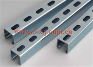 Galvanized Slotted Angle Bracket for Wall Support Roll Forming Production Machine Thailand pictures & photos