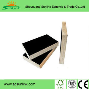 18mm Poplar Core Concrete Formwork Film Faced Marine Plywood pictures & photos