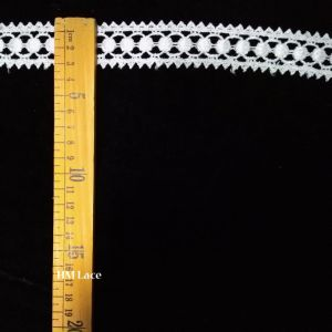 High Made Latest Designs Circles Waves Fashion Swiss Voile Embroidered Lace Trim pictures & photos