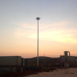 30/40/50m Q345 Steel Polygonal High Mast Lighting Pole pictures & photos