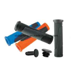 Lowest Price Rubber Bicycle Grips for Mountain Bike (HGP-024) pictures & photos