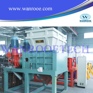 Large Plastic Products Four Shafts Shredder Machine pictures & photos