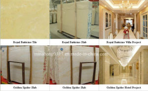 Royal Batticino Marble Slab, Golden Spider Marble Slab pictures & photos