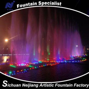 Digital Control Swing Music Fountain/ 3D Colorful Lighting in Lake