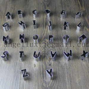 Laser Cutting Flat Cut Lettering Stainless Steel Letters Metal Numbers pictures & photos