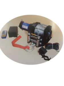ATV Winch (CMW3500-A) 12V Mini Portable pictures & photos