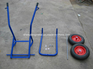 Made in China Wheel Barrow with Plastic Tray pictures & photos