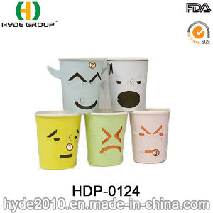 Single Wall 7oz Creative Paper Cup with Custom Printing (HDP-0124) pictures & photos