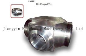 Hot Die Forging Products Forged Tee pictures & photos