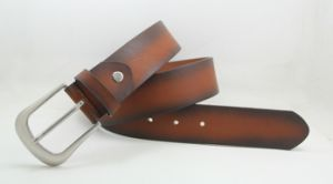 Classic and Basic Man Belt with Split Leather Linning M613 pictures & photos