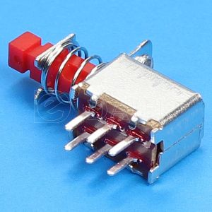 Momentary Switch, Dpdt Switch, Push Button Switch (PS-22F05) pictures & photos
