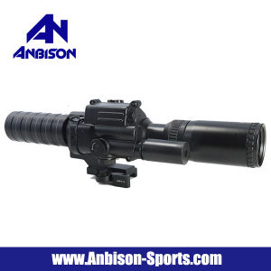 3-9X32 Variable Zoom Blue Illuminated Reticle Scope with Green Laser pictures & photos