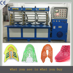 Kpu Shoes Upper Making Machine/Shoes Surface Equipment pictures & photos