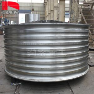 Semi-Finished Welding Products Manufacturing Component Draught Wheel