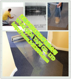 PE Protective Film for Flooring Carpet pictures & photos