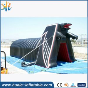 Inflatable Tunnel Helmet/Inflatable Football Helmet Tunnel/Large Inflatable Football Helmet