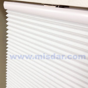 Wireless Remote Automatic Honeycomb Shades pictures & photos