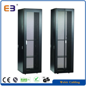 "19"" 9 Fold Profile Server Cabinet with Perforated Door pictures & photos"