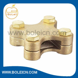 Copper Alloy Brass Square Tape Clamp Power Fitting Made in China OEM ODM Available pictures & photos