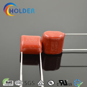 Miniature Size Metallized Polypropylene Film Capacitor (Cbb 474j/400V P=10 RoHS) pictures & photos