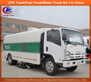 Isuzu Garbage Sweeper Truck in Road Sweeping Vehicle for Sale pictures & photos