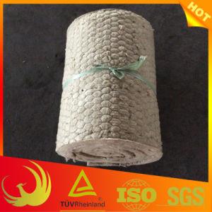 Fireproof Glass Fiber Mesh Rock Wool Blanket (industrial) pictures & photos