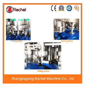 Automatic Small Type Canned Drinks Filling Capping Machine pictures & photos