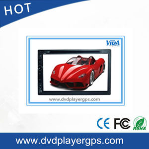 2 DIN Universal 6.95 Inch GPS Car DVD Player pictures & photos