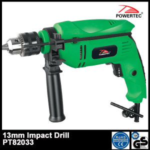 Powertec 600W 13mm Electric Impact Drill (PT82033) pictures & photos