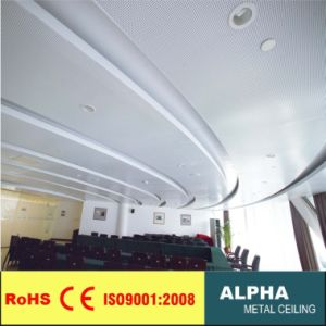 Aluminum Metal Suspended False Perforated Decorated Shaped Ceiling Panel pictures & photos