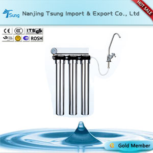 Stainless Steel Three Stage Water Purifier for Home Use pictures & photos