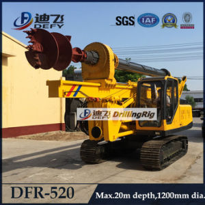 China Mini Pile Driver for 20m Depth Dfr-520 pictures & photos