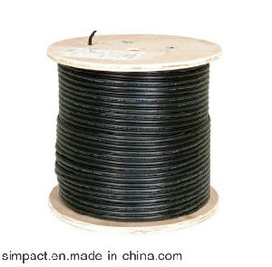 Outdoor FTP CAT6 Outdoor Water Proof with Drop Wire pictures & photos