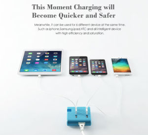 Multi Port Fast USB Charger with Stand (ID533)