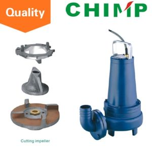 Sewage Submersible Pumps with Cutting Impeller pictures & photos