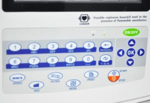12 Channel 8 Inch Electrocardiograph ECG Machine EKG Fl-1200g pictures & photos