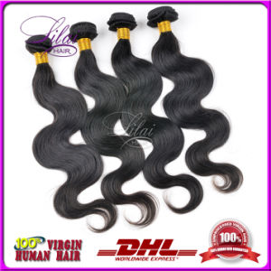 Natural Color Virgin Peruvian/Indian/Malaysian/Brazilian Human Hair Bundles